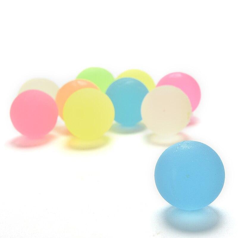 ᓂ100 unids niños juguete bola de color Boy bouncing Ball caucho al ...