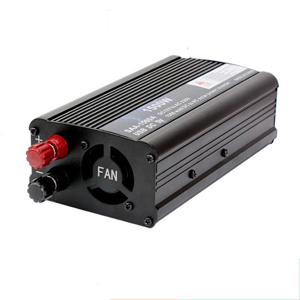 500Watt DC12V to AC220V Portable Car Power Inverter Charger Converter Adapter Modified Sine Wave Converter