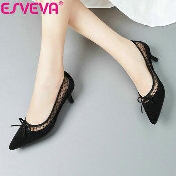Купи из китая Сумки и обувь с alideals в магазине ESVEVA Official Store
