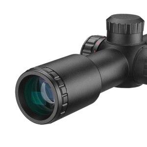 Image 4 - Tactical AK47 AK74 AR15 Hunting scope 4.5X20 E Red Illumination Mil Dot Riflescope