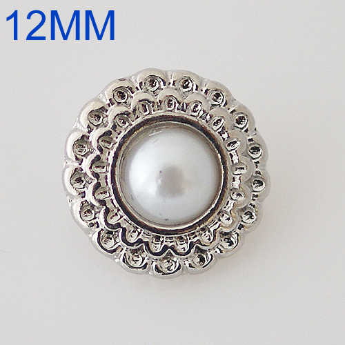 12mm Single molding  metal buckle snaps 12MM small size snaps style buckle  fit buckle jewelry KB6560-S