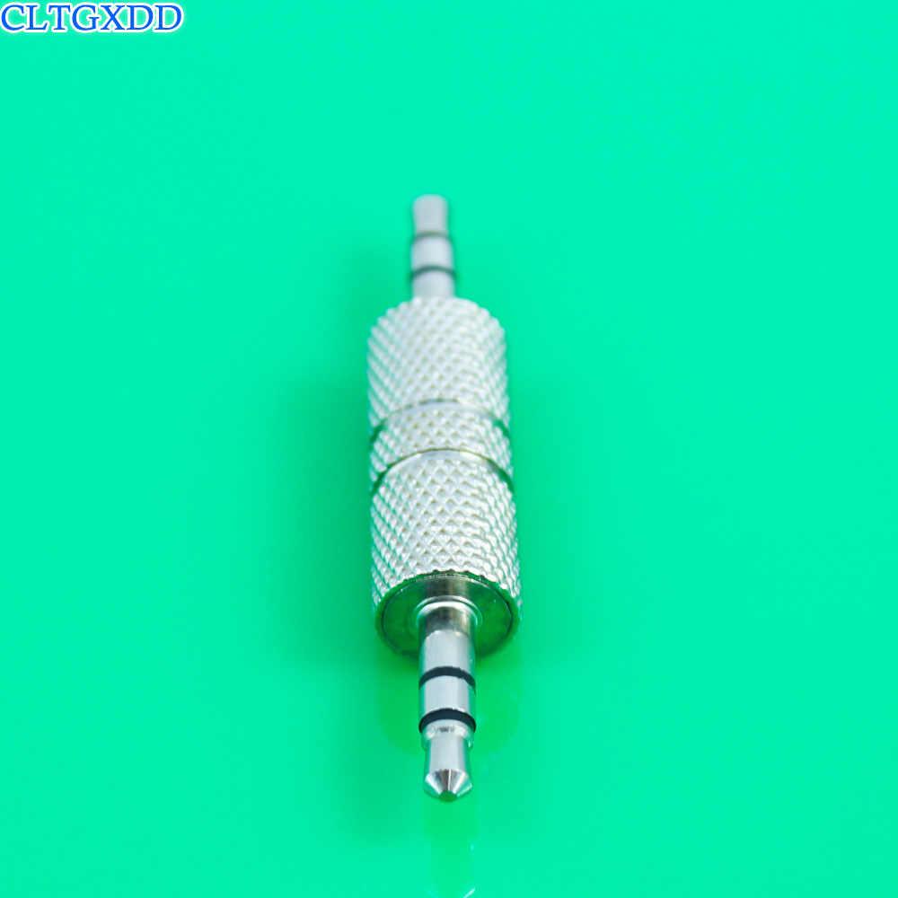 Cltgxdd 3 полюса TRS 3,5 мм штекер до 3,5 мм штекер стерео аудио адаптер, разъём конвертер наушников