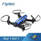 Buy One Get One Free RC Racing Drone Flytec T18 With WIFI FPV 720P Wide Angle HD Camera Quadcopter RC Helicopter RTF