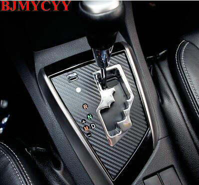 BJMYCYY Automóvel engrenagem painel decorativo adesivos para Toyota Corolla 2014 auto acessórios do carro styling
