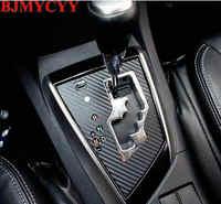 BJMYCYY автомобильные панели передач Декоративные наклейки для Toyota Corolla 2014 авто аксессуары для стайлинга автомобилей