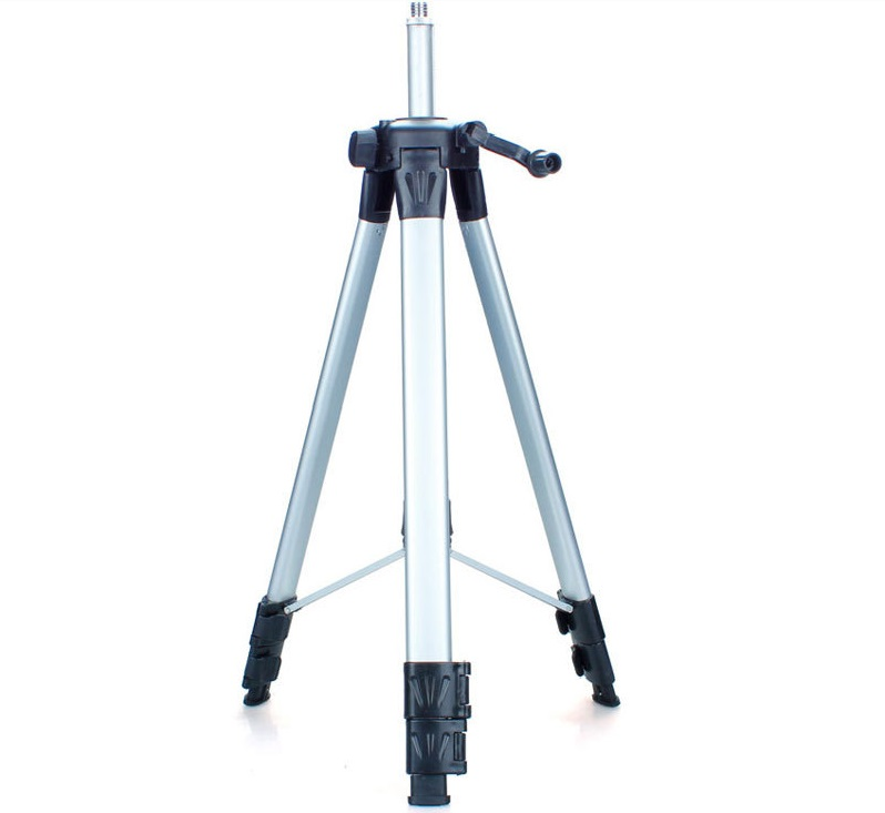 120cm laser level tripod nivel laser tripod professional carbon tripod for laser level , aluminum Adjustable Tripod цена