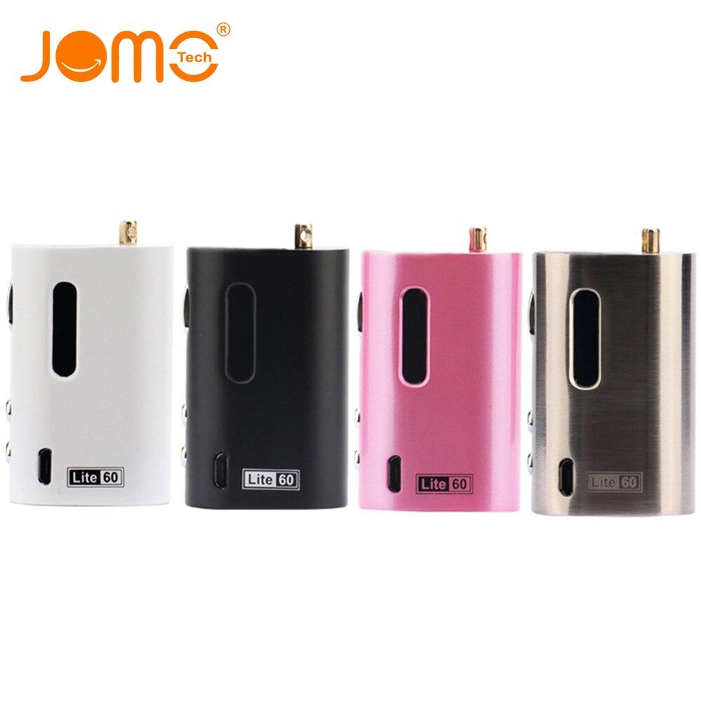 Orignal JomoTech 1600mAh 60w TC Box Mod Jomo Lite 60 Battery Electronic Cigarette VW Mod 1-60w VTC E Cigarette Battery Jomo-196
