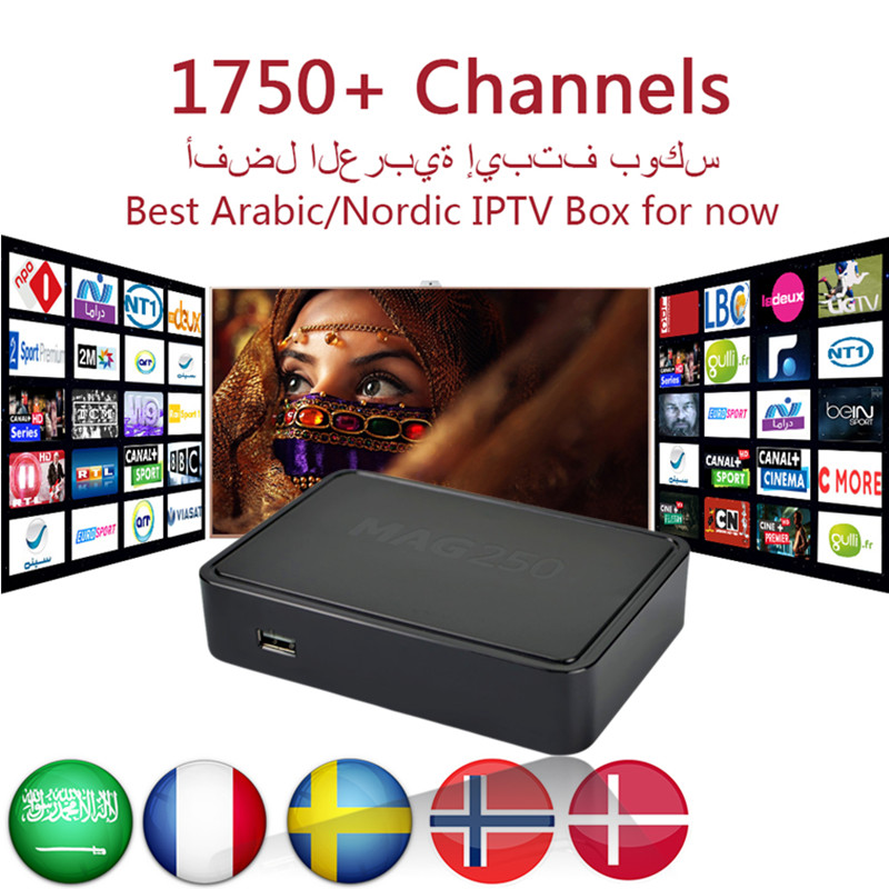 Arabic Nordic Linux IPTV box MAG250 Media Player Support WiFi Linux 2.6.23 System RAM 256 Mb Top Quality MAG 250 tv box mag 200 в киеве