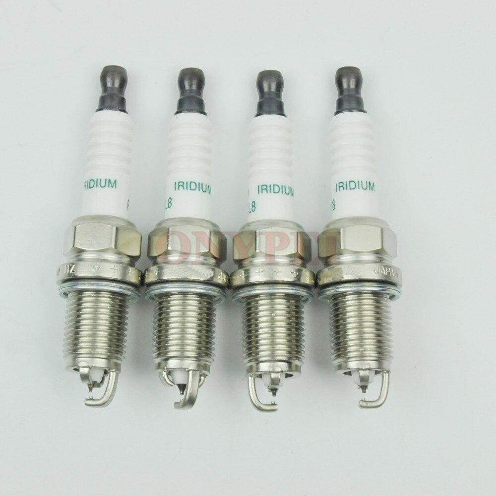 4x TOYOTA PRIUS 1.5 ORIGINALE DENSO Iridium Power Spark Plugs