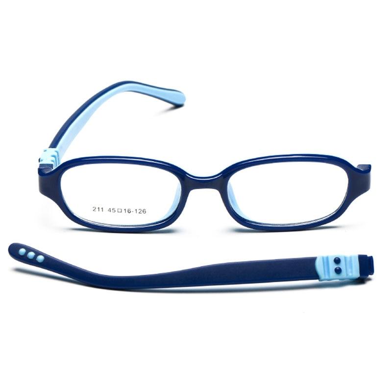BAONONG 211 Kids Eyeglasses Frame for Child Glasses Prescription Safe and Comfortable Children Protection Eyewear