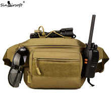 SINAIRSOFT Camping Emergency Assault Combat Rucksack Outdoor Sport Hunting Bags Multifunctional  Waist Pack athletic bag LY2059