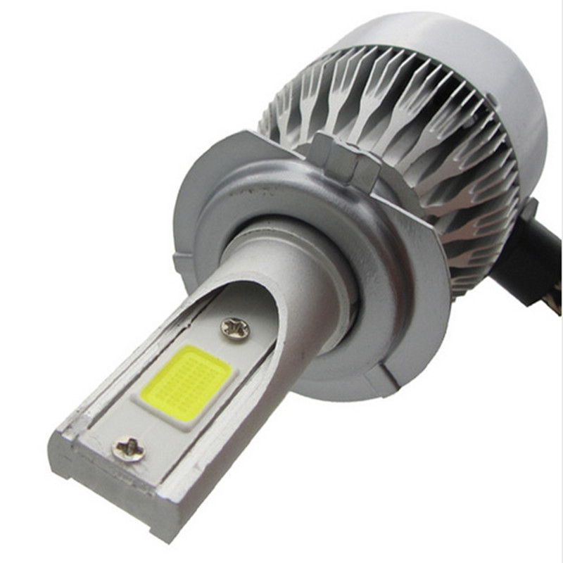 table 2.5A/12V Output COB 9004 LED Headlight Kit Adjustable 360 Angle for Dipped Beam Main Beam Replacement 6500k Cool Whit