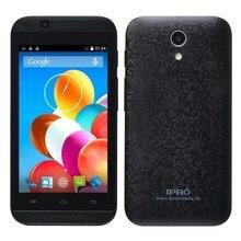 Ipro волна 4.0 разблокированным мобильных телефонов Оригинал WCDMA смартфон 4.0 дюймов Android 4.4 MTK6572 512 МБ Оперативная память 4 ГБ Встроенная память Dual Sim сотовый телефон