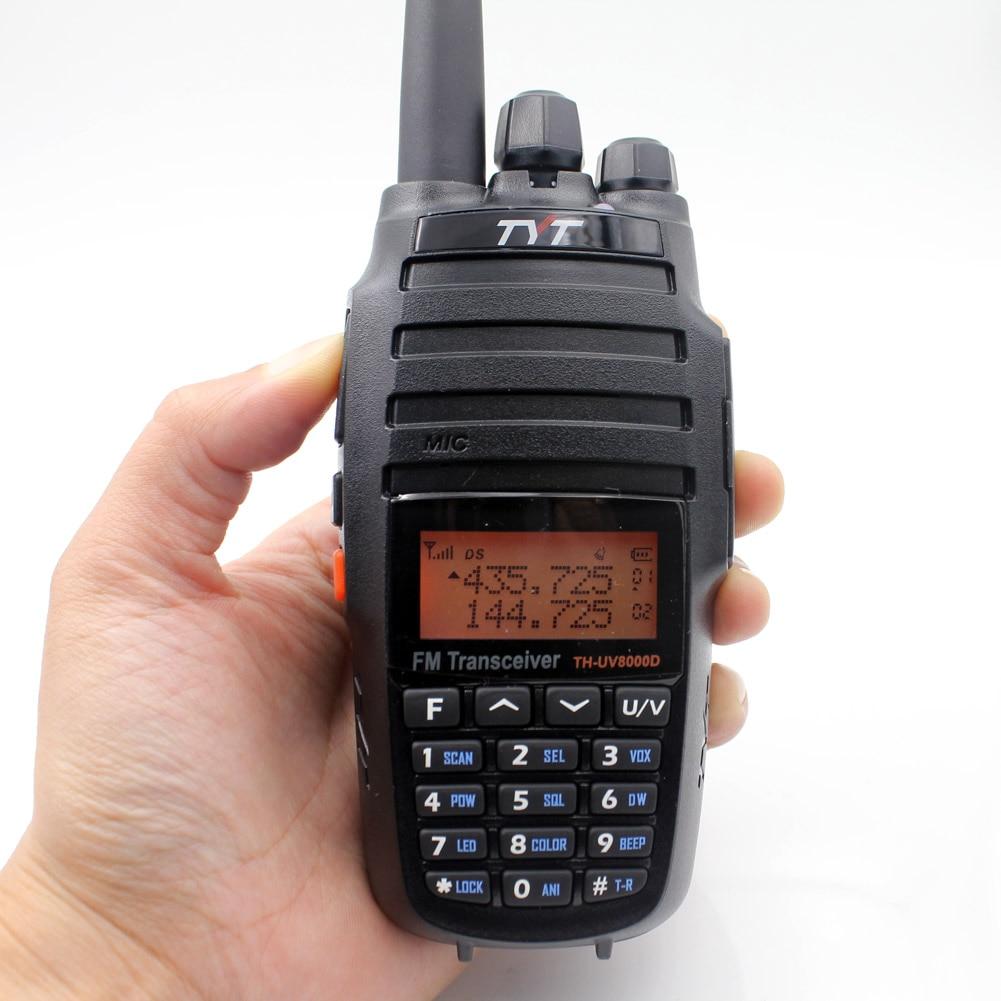 TYT TH-UV8000D рация 10 км VHF 136-174 МГц UHF 400-520 МГц двухдиапазонный портативный радиолюбительский fm-приемопередатчик двухстороннее радио