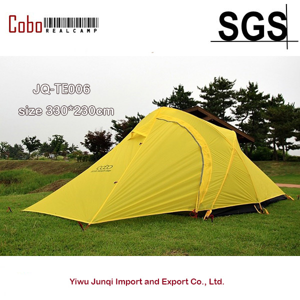 COBO 3 person rainproof outdoor c&ing backpacker tent ultra light 15D silica gel double coated  sc 1 st  AliExpress.com & COBO 3 person rainproof outdoor camping backpacker tent ultra ...