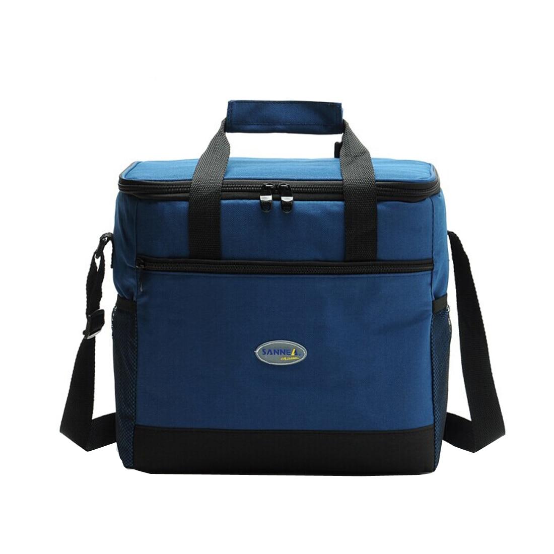 2017 Mode Große Tragbare Kühltasche Thermischen Picknick Tasche Für Frauen Kinder Männer Kühltasche Multifunktions Lunch Box
