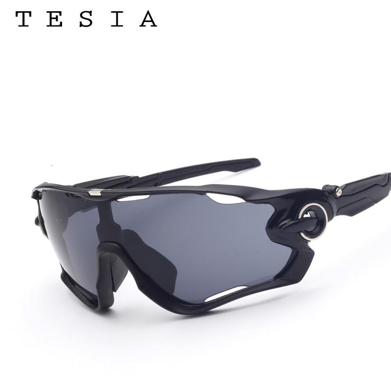 TESIA Markendesigner-Sonnenbrille-Mann-Spiegel-Gläser für das - Bekleidungszubehör - Foto 5