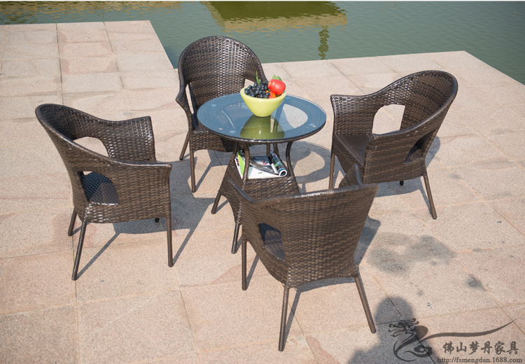 rattan chair and coffee table casual outdoor furniture balcony garden rattan table and chairs lt01 balcony outdoor furniture