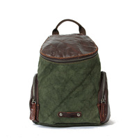 Patent leather backpack Vintage canvas travel school backpack canvas school bag Fashion 2016 new backpack for travel