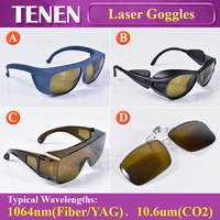 1064nm 10600nm Laser Safety Goggles Protective Glasses Shield Protection Eyewear For YAG Fiber CO2 Laser Cutting Welding Machine