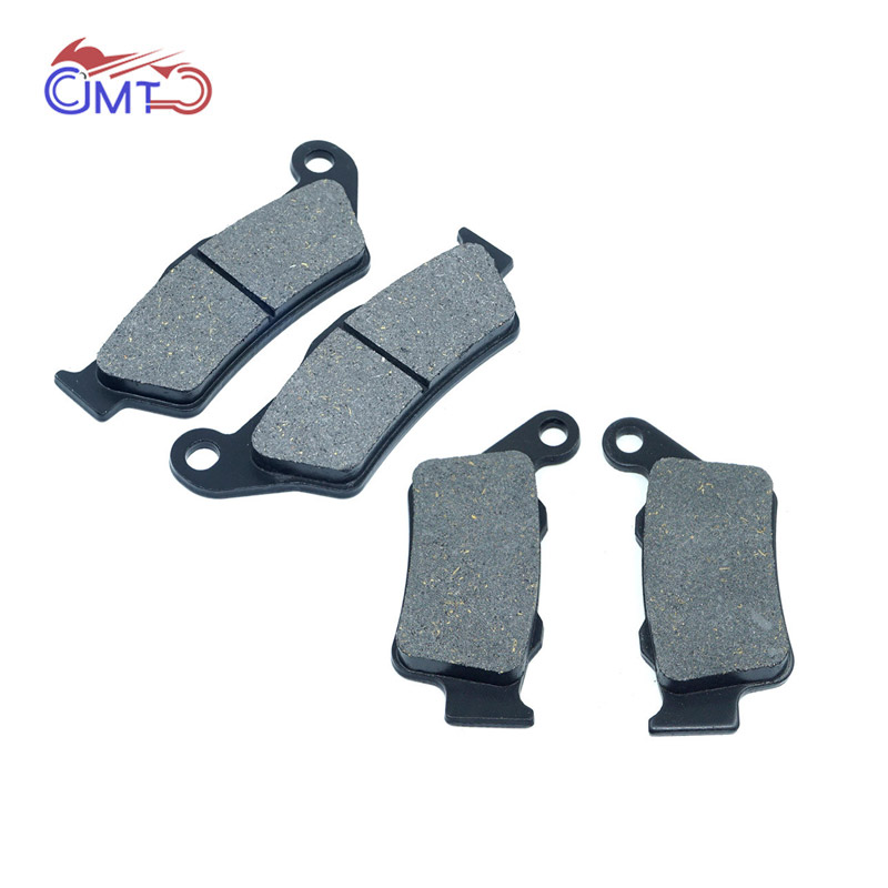 For <font><b>Yamaha</b></font> TT600E 1994-2001 TT600R 1997-2002 XT660Z Tenere 2008-2016 Front Rear Brake Pads Set Kit TT 600 E R XT 660 Z image