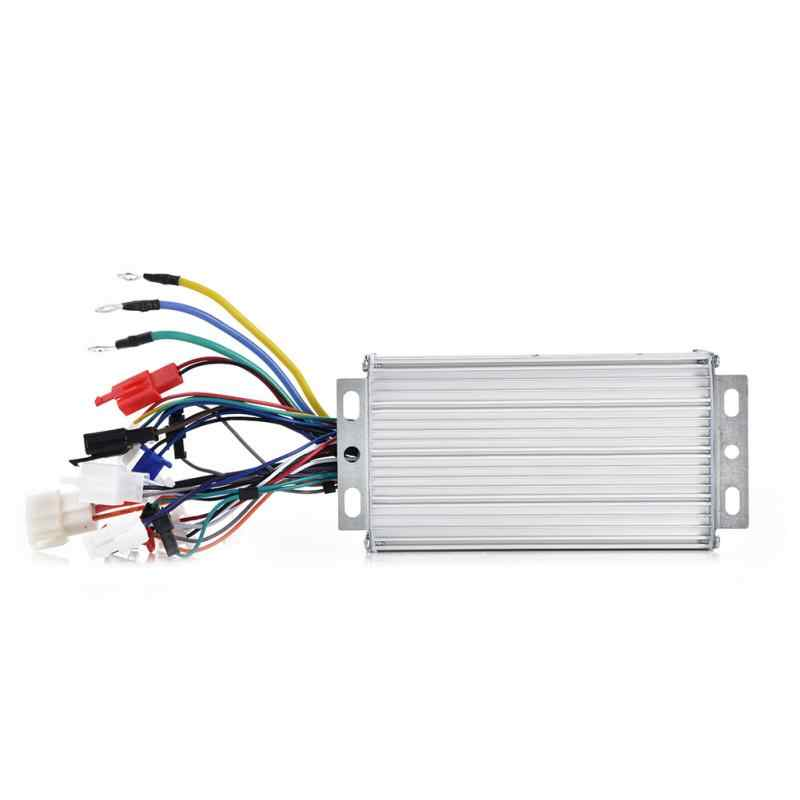 48V 500W 12 Tube Aluminium Alloy Brushless Electric Bike Controller for Electric Bicycle Scooter Electric Bicycle Accessories
