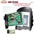 Высокое Качество Полный Чип МБ ЗВЕЗДА C4 SD CONNECT Диагностический Инструмент с Функцией WI-FI SD С4 Основной Блок XENTRY Звезда C4 DHL бесплатно