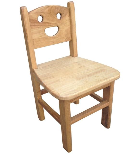 Factory direct custom nursery children small wooden chair ...