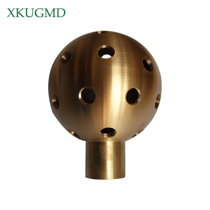 8x 1//2/'/' Fountain Nozzle Sprinkler Water Spray Head Straight Shape Brass