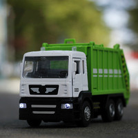 Car Model Gift Box Engineering Truck Crane Toy Mixer City Garbage Disposal Car Diecast Alloy Model Car Toy Auto Speed Wheel 1:50