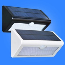 HAWBOIRRY Solar PIR Motion Sensor Wall Light Outdoor Waterproof Energy Street Garden Safety Door