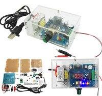 DIY AC 220V To DC 1 25V 12V LM317 Adjustable Voltage Power Supply Moudle DIY Kit