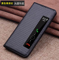 Genuine Leather Case Cowhide For Huawei P20 Protective Cover Phone Shell For Huawei P20 Pro Smart