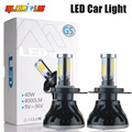 H4 Car Led Headlight High Power Diamond Auto H4 Hi/lo High Low 40W X2 White 6000K Repalcement Bi xenon Headlamp