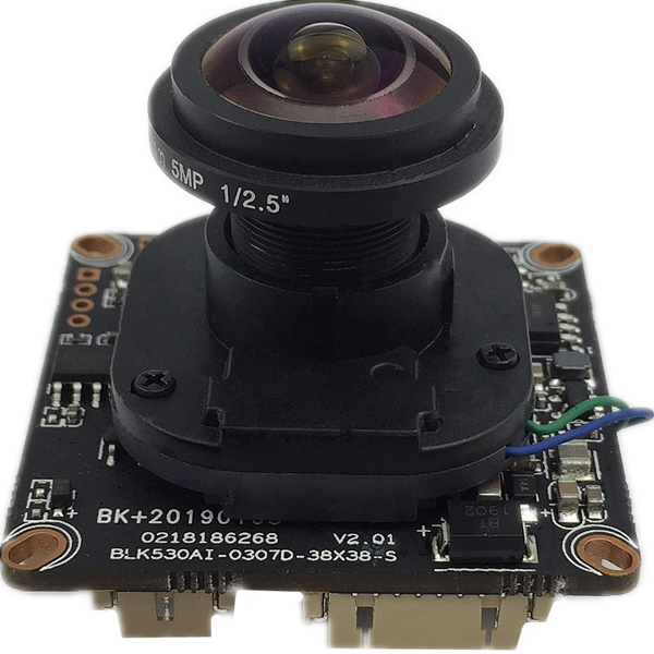 Sony IMX307+XM530 1080P 25fps IP Camera Module Board Panorama FishEye 2.8-12mm Manual Zoom 1920*1080 2.0MP H.265 ONVIF CMS XMEYE