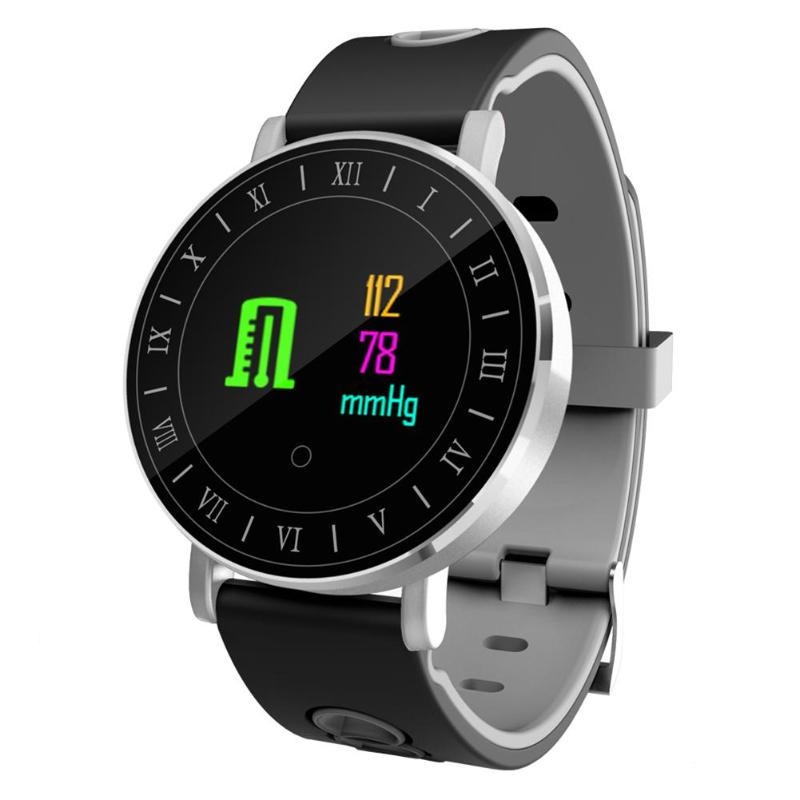 ALLOYSEED 1pcs Smart Wristband Waterproof Smart Band Sports Fitness Tracker Bracelet With Charging Cable