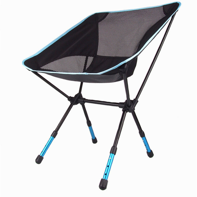 FREE SHIPPING Gold Fishing Foldable Chair Light Weight Beach Chairs Max 150KG Power Strong For Outdoor Home Carry Easy