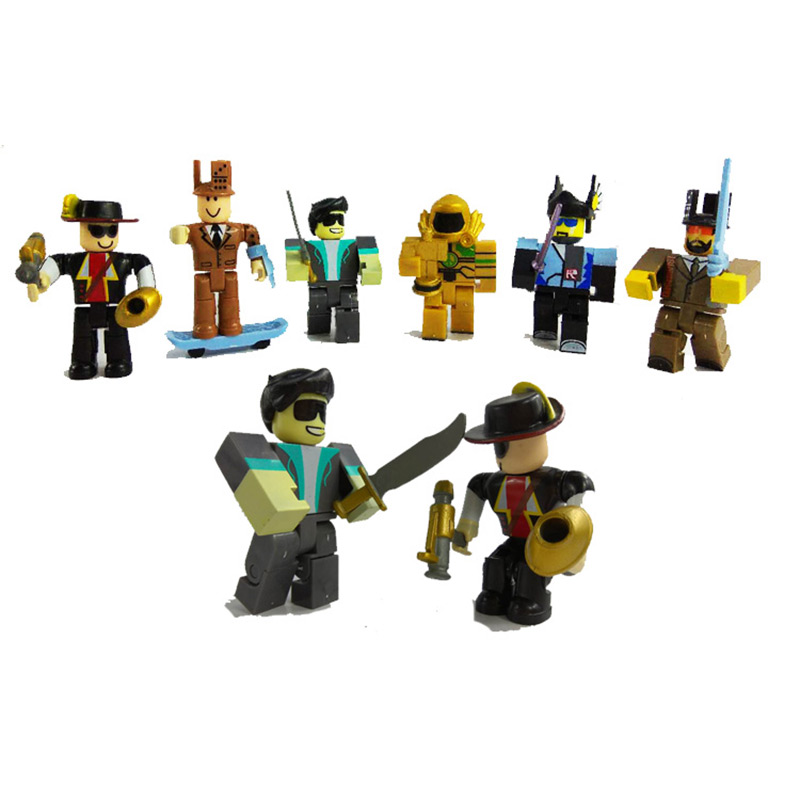 Boys Toys Big Game : Pcs set roblox game figure cm pvc boys