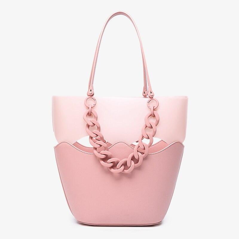 Proste mody kobiet torebki duża pojemność koreański panie torby kompozytowe zakupy podróży torebka damska torba na ramię 435 w Torebki na ramię od Bagaże i torby na  Grupa 2