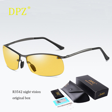 Luxury Polarized Photochromic Sunglasses night vision Mens Transition Driving ra