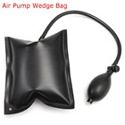 Newest Black Inflatable Air Pump Wedge Bag Hand Pumps Tool For Automotive Car Home Door Windows
