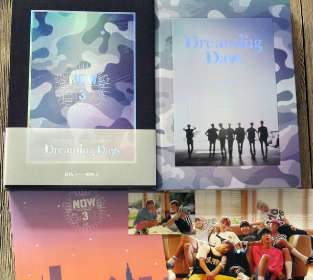 BTS Bangtan Boys Autographed signed with pen 2016 NOW3 Dreaming Days Officail Chicago photobook new korean version 05.2016