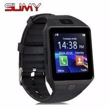 Viscoso Fábrica DZ09 Relógio Inteligente Com Câmera TF SIM Passometer cartão de Chamada Smartwatch Para Android IOS Telefone Melhor Do Que GT08 A1