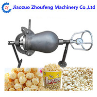 Commercial Popcorn Maker Cannon Corn Rice Puffed Food Snack Machine