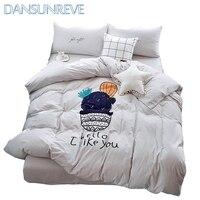 Fashion Bedding Set Queen Size Sheets Bedding Duvet Covers Boys Twin Bedding Set Bed-Linen-Cotton Nordic Bedding