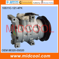 HIGH QUALITY AUTO AC COMPRESSOR  10S11C  447180-4880 88320-0D020 88320-0S020