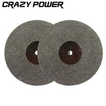 CRAZY POWER 5 Pcs 50mm Diamond Metal Cutting Discs Drill Bit For Rotary Tool Accessories Kit