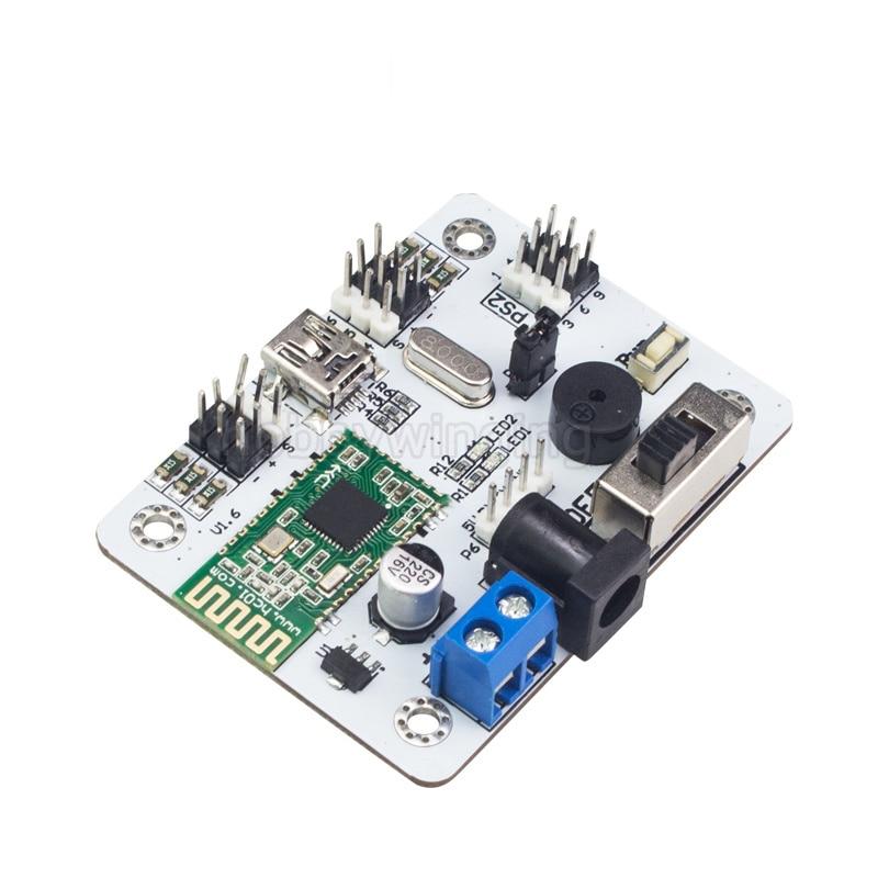 6CH Robotic Arm Bluetooth Servo Controller for RC manipulator robot Arm Support wireless handle стоимость