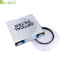 10 pçs/lote 37 40.5 43 46 49 52 55 58 62 67 72 77 82mm lente Filtro UV Digital Lens Protector para canon nikon DSLR Slr