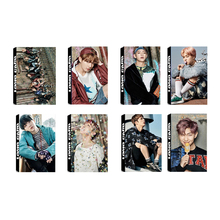 Youpop KPOP BTS Bangtan Boys YOU NEVER WALK ALONE Album LOMO Cards New Fashion Self Made Paper Photo Card HD Photocard LK449(China)